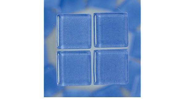 MosaixSoft 20/x 20/x 4/mm 200/g 41/pi/èces en Verre carrelage Bleu Clair