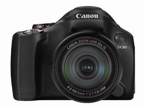 Canon Av-kabel (Canon PowerShot SX30 IS Digitalkamera (14 MP, 35-fach opt. Zoom, 6,8cm (2,7 Zoll) Display, bildstabilisiert) schwarz)