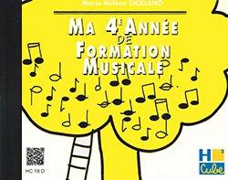 Ma Quatrième Annee de Formation Musicale - Formation Musicale - CD