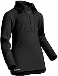 Berkner - Kinder + Jugendliche Thermo Langarmshirt mit Kragen-Zip / Skiunterwäsche / Funktionsunterwäsche - SILVER BION forte - Thermoactiv
