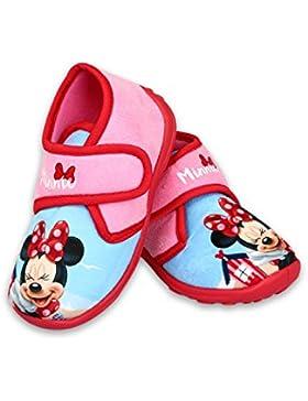 DisneyMinnieMouse Zapatillas de estar Por casa de Tela Para Niña Rosa Rosa 29 EU