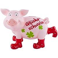 Preisvergleich für Gift Company Sparschweini, Glück