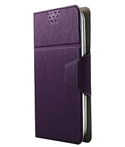 Molife Flip Cover for Meizu M2 Note (PURPLE)