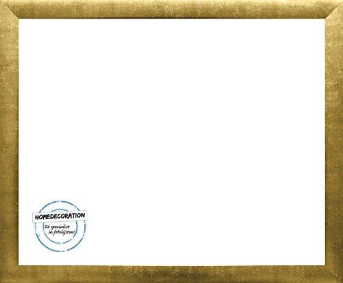 Panama Bilderrahmen 24 x 36 cm Gold Antik mit Acrylglas Antireflex 1 mm 36 x 24 cm