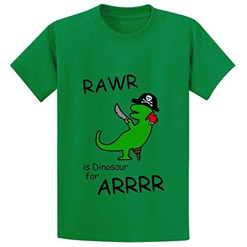 unicorn-rawr-is-dinosaur-for-arrr-pirate-dinosaur-unisex-crew-neck-tees-m-130