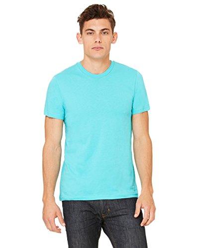 Belowty Bella + Canvas Unisex Jersey Short Sleeve Tee Blau - Blaugrün