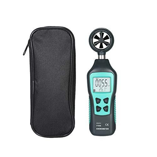 ZTT Digital-Anemometer Hand, 5 Einheit Anemometer zur Messung der Windgeschwindigkeit mit Hintergrundbeleuchtung für Windsurfen Kite Flying Segeln Surfen Angeln