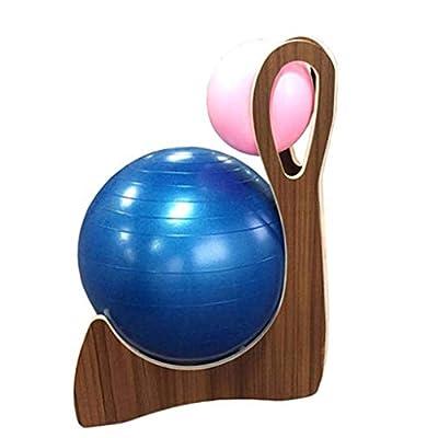 Blöcke Yogakugelstuhl Pilates Stuhl Kissenhocker Fester Sitzkugelstuhl Zusätzlicher Fitnessstuhl Multifunktionaler Yogastuhl Kann 150 kg Tragen