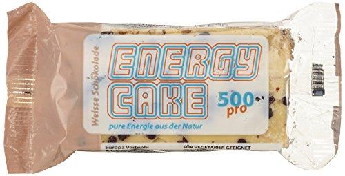 E.L.F Energy Cake - Weiße Schokolade 24x125g, 1er Pack (1 x 3 kg) (Aroma-wasser-flasche)