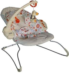 Swing Bounce Rocker ARTI Beauty UC68 Music Massage Orange Nursery Rest and Play