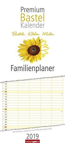Bastelkalender Familienplaner - Kalender 2019: Basteln - Kleben - Malen