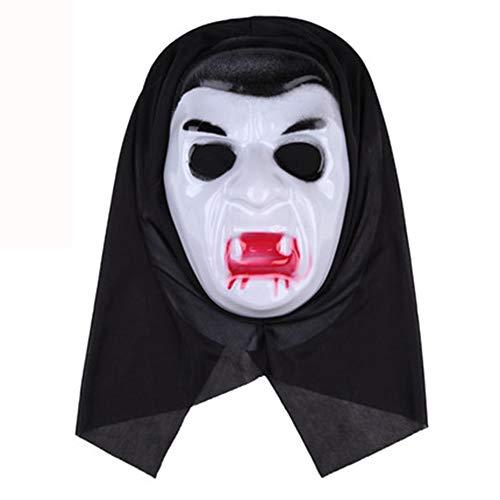 st Scream Maske Horror Scary Erwachsenen Screaming Sensenmann Vampire Devil,3 ()