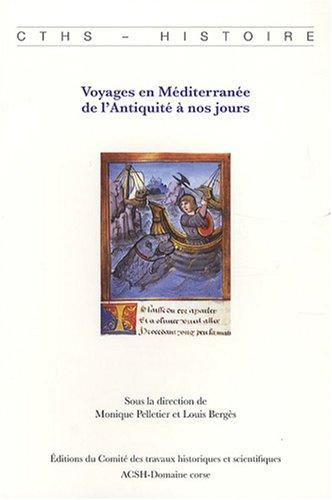 Voyages en Méditerranée de l'Antiquité à nos jours