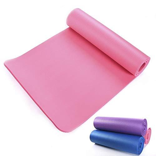 Meiibo Komfort Gymnastikmatte Yogamatte Umweltschutz Geschmacklos rutschfest in 3 Unterschiedlichen Farben