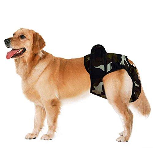 Weiblich Hunde Schutzhose Haustier Unterhose Unterwaesche Welpenhose Hose fuer Grosse/Kleine Hunde Laeufigkeit XL