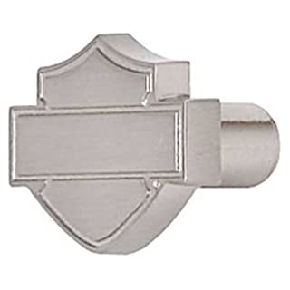 Harley-Davidson® Brushed Nickel Bar & Shield Silhouette Cabinet Knob. HDL-10113. by ACE