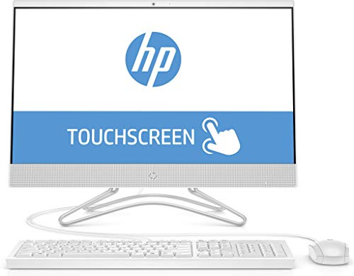HP 24-f0018ng (23,8 Zoll Full HD Touch) All-in-One PC (Intel Core i5-8250U, 8GB DDR4 RAM, 256GB SSD, Intel UHD Grafik 620, Windows 10 Home) weiß
