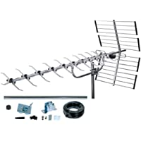 SLx 4G 64 Element Outdoor Digital TV Aerial Kit High Performance Aerial for HD TV Freeview
