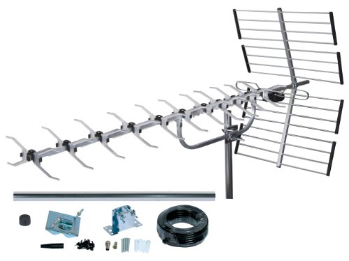 SLx 4 G 64 Element Digitale TV-Antennen-Set High Performance Antenne für HD TV FREEVIEW - Dach-antenne-tv