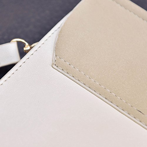 Moda Stile Nazionale Borse Ricamate Borsa Invernale Nuova Sacchetto Rotondo Borsa Spalla Selvaggia White