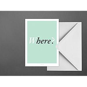 Postkarte / Where