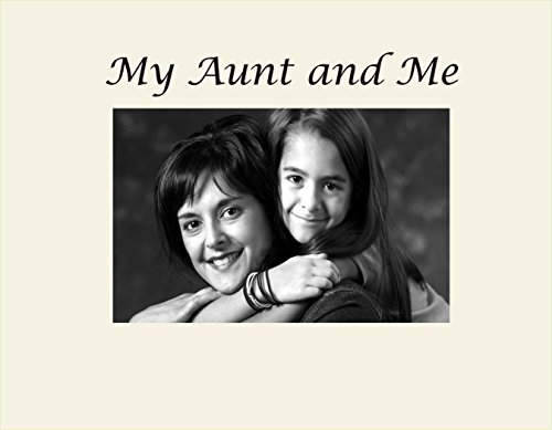 Black Small Infusion Gifts 3025-SB My Aunt and Me Engraved Photo Frame
