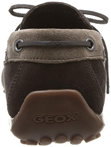 Geox U Snake Moc I, Mocassins homme Marron (Coffee/Dove Grey)
