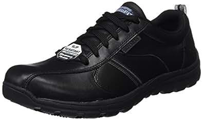 Skechers Men's Hobbes-Frat Safety Shoes, Black (Blk), 6 UK 39 1/2 EU