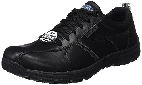 Skechers hobbes-frat, scarpe antinfortunistiche uomo, nero (blk), 47.5 eu