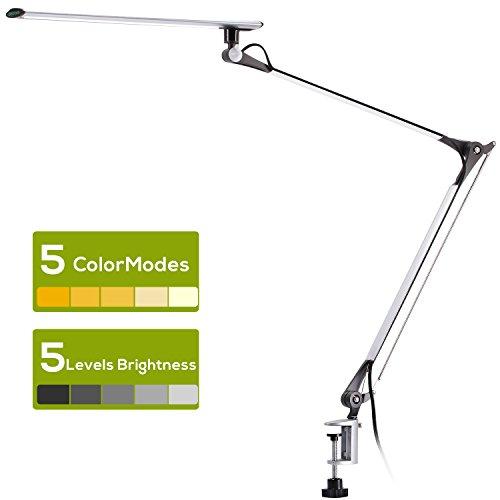 Licht & Beleuchtung 6 W Flexible Dimmbar Usb Schreibtisch Tisch Lampe Drei Farbe Modi Lesen Licht Dc5v Durchsichtig In Sicht