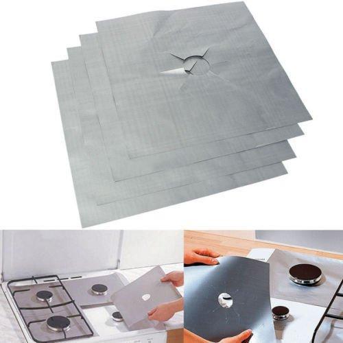 yosoo-4pcs-universal-reusable-aluminum-non-stick-foil-gas-stove-cover-protector-clean-perfect-kitche