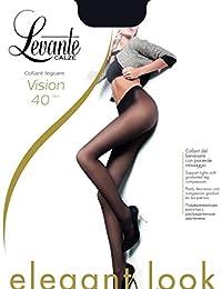 97349e55f1d8 Levante Collant Donna Vision 40 DEN Calza Elasticizzata Cucitura piatta
