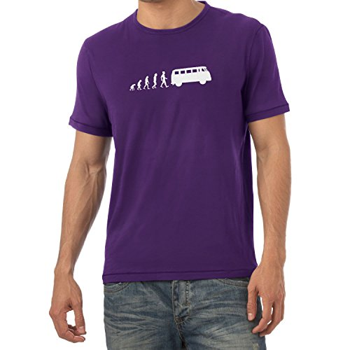 Texlab Bulli T1 Evolution - Herren T-Shirt Violett