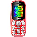 ONEANTWO D7 Dual Sim Basic Feature Mobile Phone (Red)
