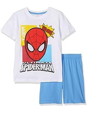 FABTASTICS Spiderman, Pijama para Niños