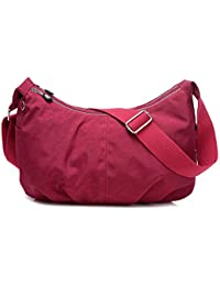 Outreo Bolsos de Casual Bolso Bandolera Moda Bolsas de Deporte Ligero  Impermeable Bolsos Mujer Bolsas de Viaje… 6ac720d364e26