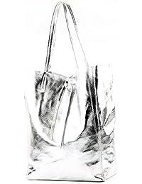 3e91c59745 borsa in pelle Borsa donna Borsa shopper Borsa a tracolla grande in pelle  T163