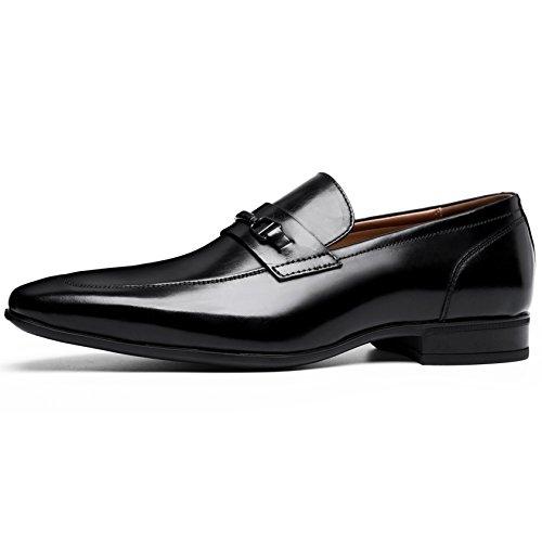 Desai Mocassins Homme Chaussures de Ville Noir