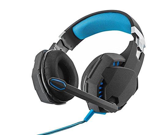 Preisvergleich Produktbild Trust GXT 363 USB Bass Vibration 7.1 Gaming Headset (7.1 Surround Sound, Leistungsstarke 50mm Neodym-Magnet-Treiber, LED-Beleuchtung, geeignet für PC) schwarz