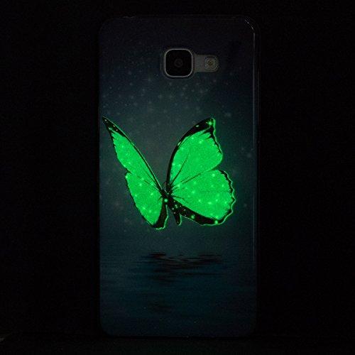 custodia galaxy a5 2016 samsung con farfalle
