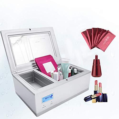 XHDZ Kosmetische Kühlschrank 3L tragbarer, elektrischer Kühlbox Mini-Kühlschrank, Kosmetik Kleiner Kühlschrank für Augencreme, Gesichtsmaske, Eyeliner, Hautcreme, Bio-Kosmetik -