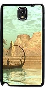 Hülle für Samsung Galaxy Note 3 (GT-N9500) - Lampboat Mit Fee