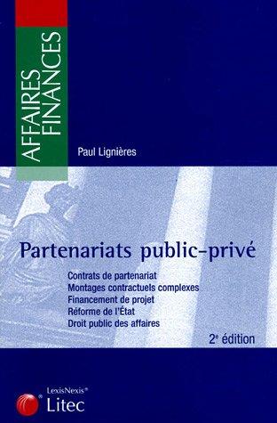 Partenariats public-privé par Paul Lignières