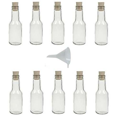 Viva Haushaltswaren - Juego Botellas Cristal pequeñas