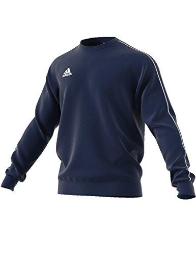 adidas Herren Core18 Sweat Top Sweatshirt, Dark Blue/White, M