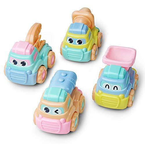 GizmoVine Spielzeugauto Traktor Spielzeug 2 Jährige Auto Spielzeug für Kleinkinder