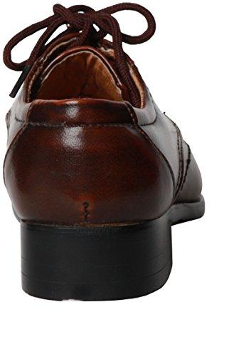 Chaussure de bébé couleur marron Marron