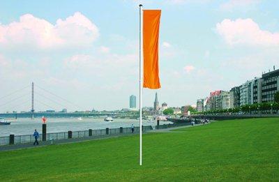 Meter edelstahl tour camping teleskop fahnenstange banner flagge