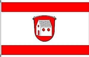 Hochformatflagge Niedernhausen - 80 x 200cm - Flagge und Fahne