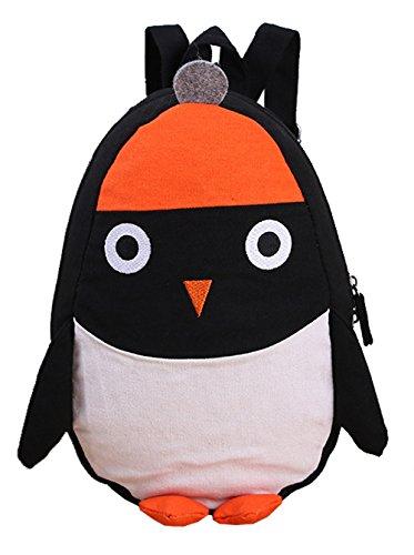 Sanyouletoo Version des niedlichen Pinguin Leinwand Modelle wilde Messenger Rucksack Mädchen Jungen Kinderrucksack Kinder Kleinkind Vorschule Babyrucksack Farbewahl (Modelle Niedlichen Hot)